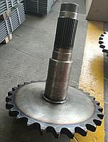 Приводной зубчатый вал ступицы передний 85513030/85763002