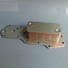 Радиатор масляный (теплообменник) 6ВТА 5,7 Cummins 3957544/3921558 (7 секций)