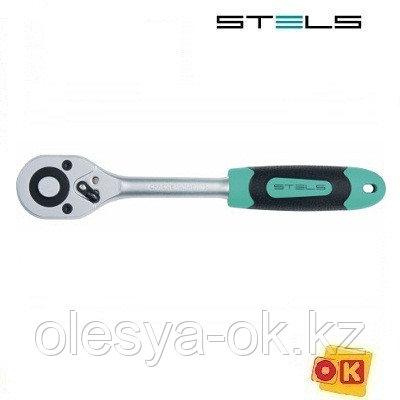 Ключ-трещотка 1/4, 72 зуба, STELS