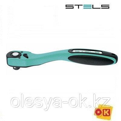 Ключ-трещотка 1/4, 72 зуба. STELS