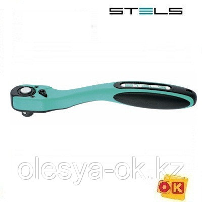 Ключ-трещотка 1/4, 72 зуба. STELS, фото 2