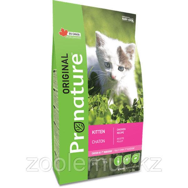 Pronature Original NEW сухой корм для котят на основе мяса курицы 20 кг