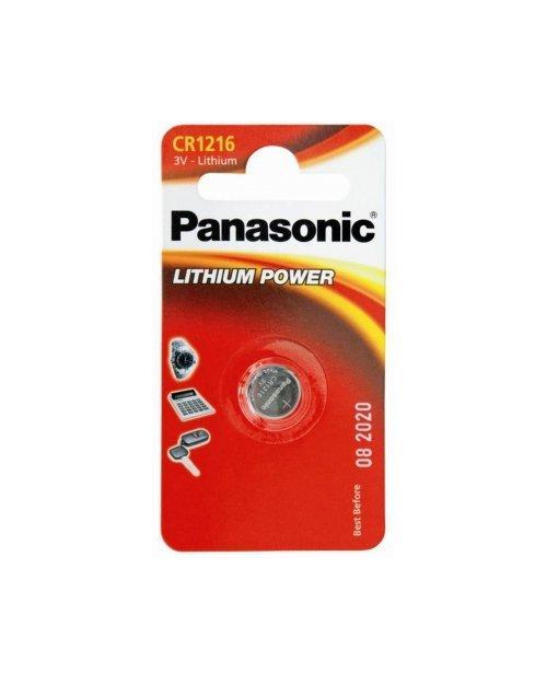 Батарейка дисковая литиевая PANASONIC CR-1216/1B