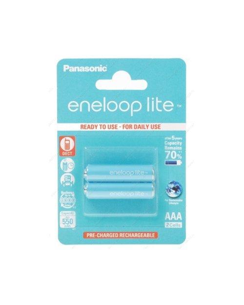 Аккумулятор PANASONIC Eneloop Lite AAA 550 mAh/2B
