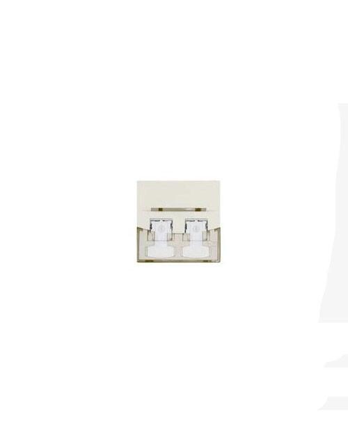 3М FQ100078655 Лицевая панель под модуль Volition®, 1-порт, 45 х 45, белая