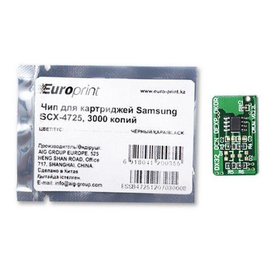 Чип Europrint Для картриджей Samsung SCX-4725 3000 страниц.
