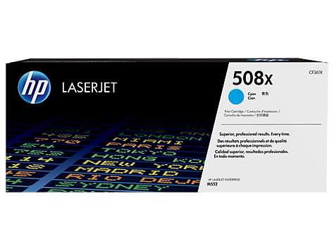Картридж HP 508X Cyan LaserJet  Увеличенной емкости (CF361X)