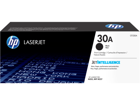 Картридж HP 30A Black LaserJet  (CF230A)