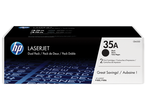 Картридж HP 35A Blk Dual Pack (CB435AF)