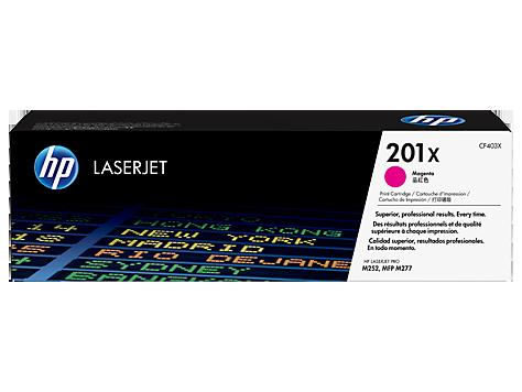 Картридж HP 201X Magenta  (CF403X)