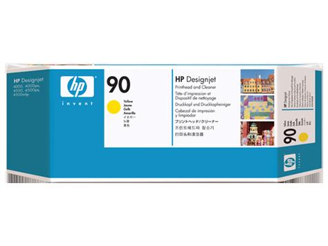 Печатающая головка HP Yellow Printhead and Printhead Cleaner №90 (C5057A)