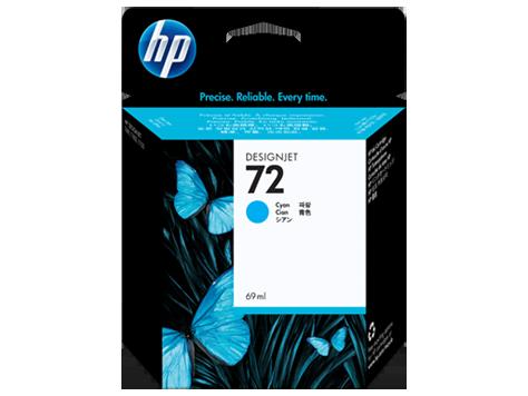 Картридж струйный HP Cyan Ink  №72  (C9398A)