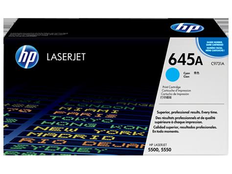 Картридж HP C9731A, голубой
