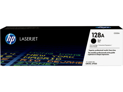 Картридж HP CE320A (№128A)