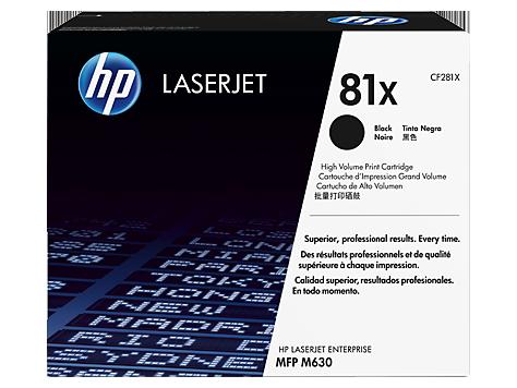 Картридж HP 81X Black  (CF281X)