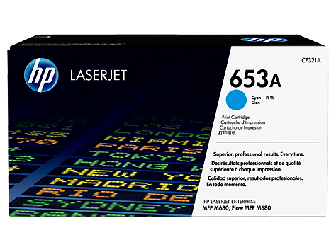 Картридж HP 653A Cyan  (CF321A)