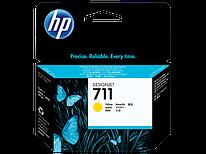 Картридж струйный HP Yellow Ink  №711 (CZ132A)