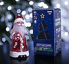 """Игрушка световая """"Дед мороз усач"""" (батарейки в комплекте) 1 LED, RGB , фото 3"""