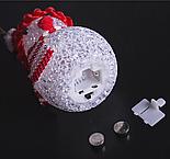"Игрушка световая ""Снеговик"" (батарейки в комплекте) 6х13 см, 1 LED RGB, КРАСНЫЙ , фото 4"