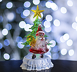 """Игрушка световая """"Дед мороз под елкой"""" (батарейки в комплекте) 1 LED, RGB, фото 2"""