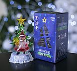 """Игрушка световая """"Дед мороз под елкой"""" (батарейки в комплекте) 1 LED, RGB, фото 3"""