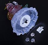"""Игрушка световая """"Дед мороз под елкой"""" (батарейки в комплекте) 1 LED, RGB, фото 4"""