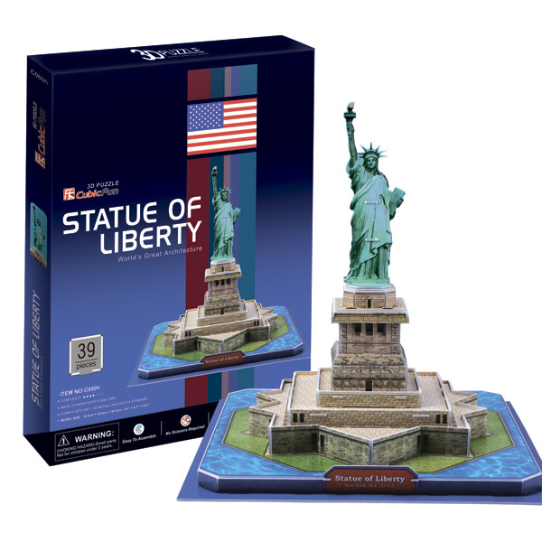 Игрушка Статуя Свободы (США) - 3D Пазл (Конструкторы)