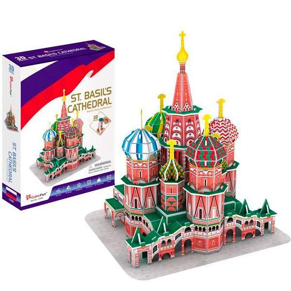 Игрушка  Собор Василия Блаженного (Россия) - 3D Пазлы (Конструкторы)