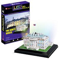 Игрушка Белый дом с иллюминацией  (США) - 3D Пазлы (Конструкторы), фото 1