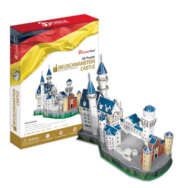 Игрушка  Замок Нойшванштайн (Германия) - 3D Пазлы (Конструкторы)