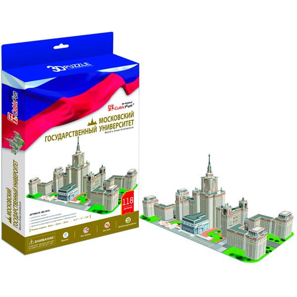 Игрушка Московский Государственный Университет (Россия) - 3D Пазлы (Конструкторы)