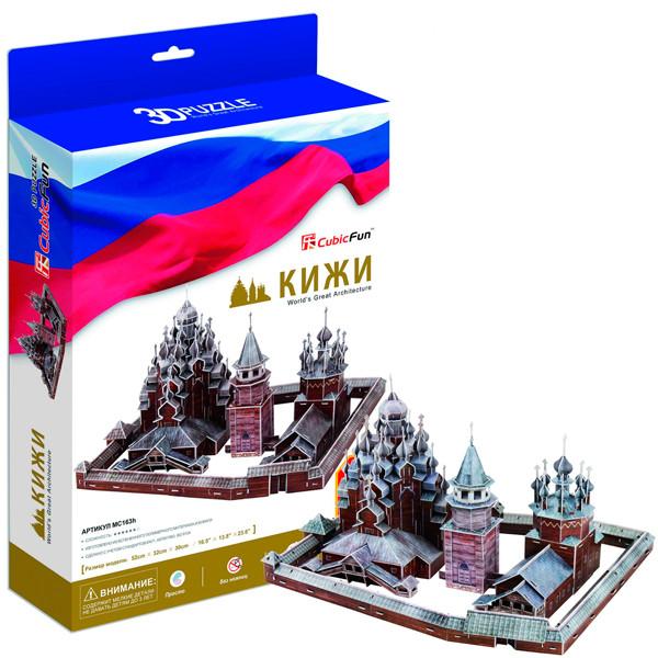 Игрушка Кижи (Россия) - 3D Пазлы (Конструкторы) - 3D Пазлы (Конструкторы)