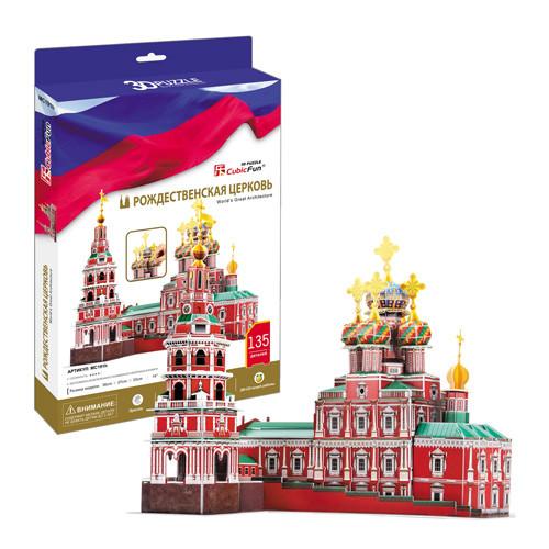 Игрушка Рождественская церковь (Россия) - 3D Пазлы (Конструкторы)