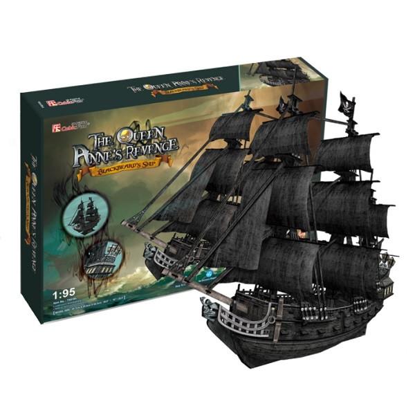 Игрушка Корабль Месть королевы Анны - 3D Пазлы (Конструкторы)