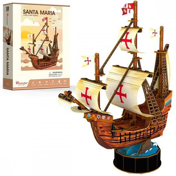 Игрушка Корабль Санта Мария - 3D Пазлы (Конструкторы)