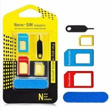Адаптер на SIM карты 3 шт Nano-SIM adapter