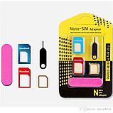 Адаптер на SIM карты 3 шт Nano-SIM adapter, фото 3