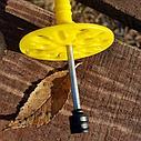 Дюбель для крепления теплоизоляции с металлическим стержнем , фото 3