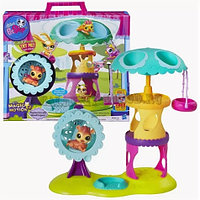 Littlest Pet Shop Playtime Park with Russell Ferguson Playset, Hasbro Игровой набор Парк развлечений