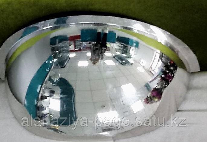 Зеркало наблюдения KLG-22 сферическое, 180 град., диаметр 810 мм, для установки внутри помещения, на потолок