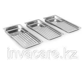 Лоток медицинский стоматологический ЛМСт-«Ока-Медик» (на 8 инструментов из нержавеющей стали)