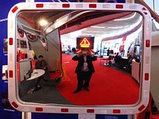 Обзорное зеркало KLR-6040-2200 прямоугольное со светоотражающей рамкой , размер 400*600 мм, фото 2