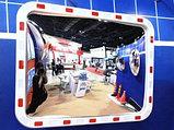 Обзорное зеркало KLR-6040-2200 прямоугольное со светоотражающей рамкой , размер 400*600 мм, фото 3