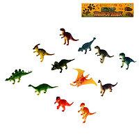 """Набор динозавров """"Мир Динозавров"""", 12 фигурок"""