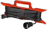 """Удлинитель электрический """"MAXElectro"""" на рамке, 20м, 1 гнездо, STAYER 55018-20"""