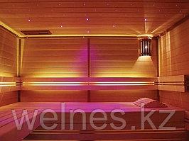 Оптоволоконное освещение для инфракрасных саун.