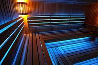 Светодиодное освещение для инфракрасных саун.