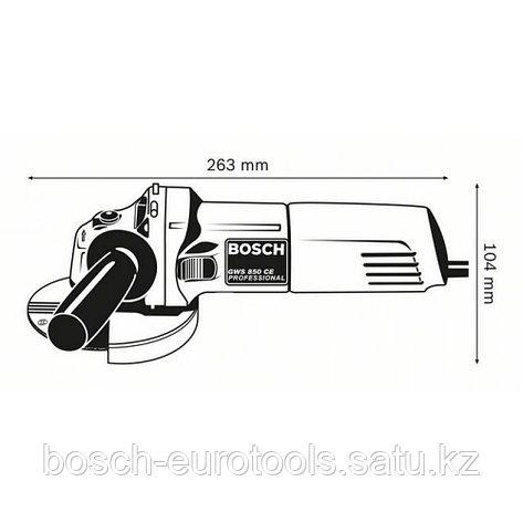 Bosch GWS 850 CE Professional в Казахстане, фото 2