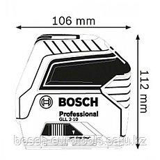 Bosch GLL 2-10 Professional в Казахстане, фото 2