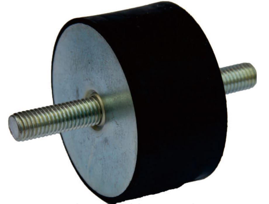 Виброизолятор (виброгаситель) резиновый, 4040VV23/25